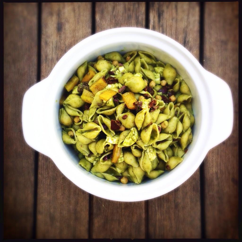 Salada de macarrão do pai – minha favorita