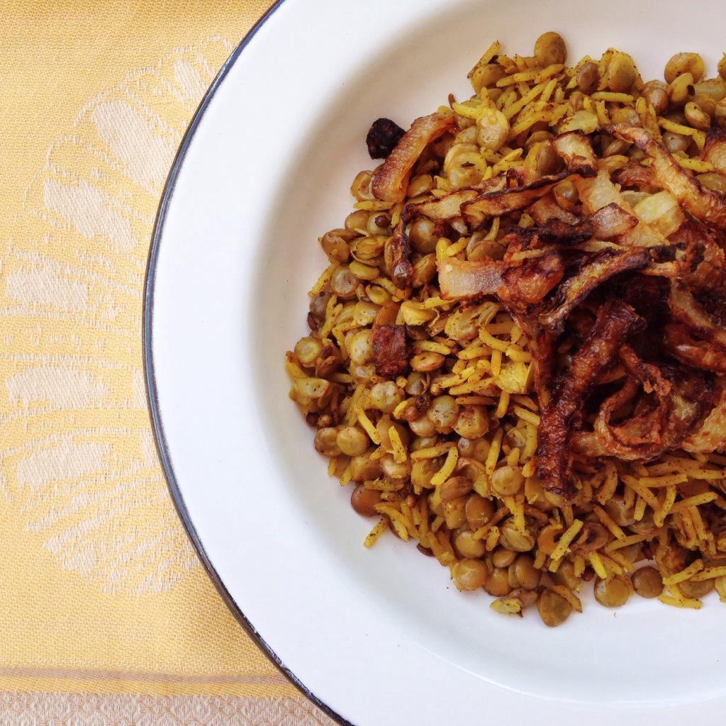 arroz com lentilha jerusalem 13