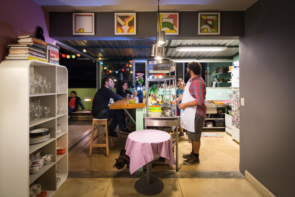 cozinha com convidados 8a edição jantares lá em casa felipe bastos