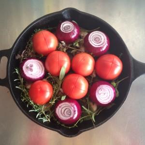 tomate e cebola assados com balsâmico 2