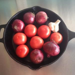 tomate e cebola assados com balsâmico 3