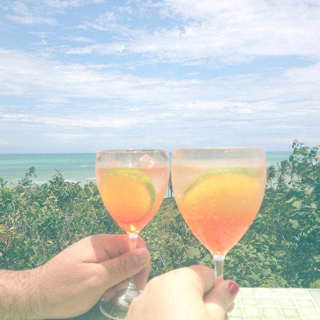Spritz e aquele clima de férias