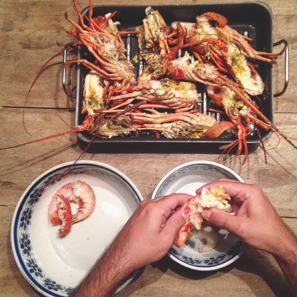 sanduba de lagosta ou lobster roll e aquele clima de férias