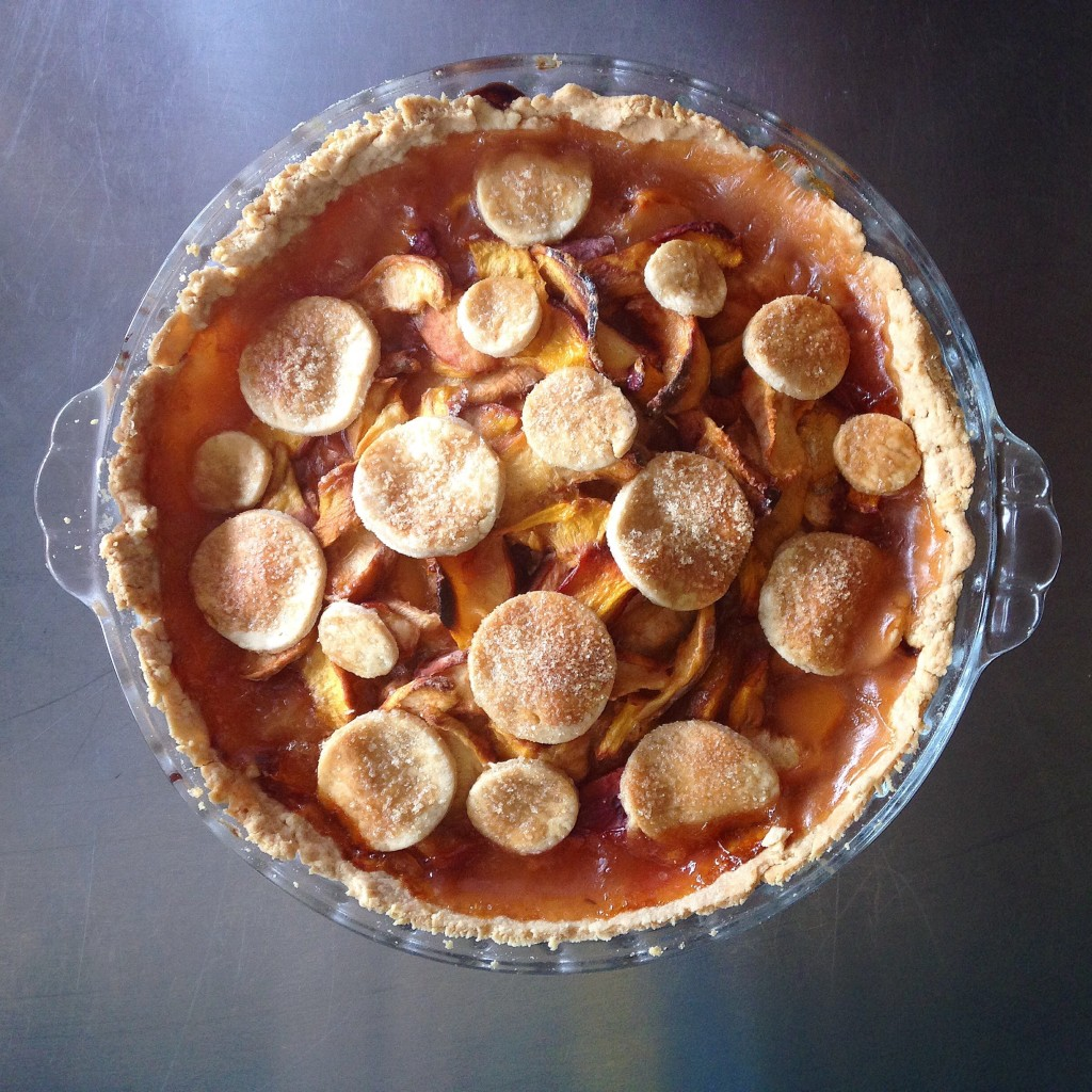 torta de pêssego e nectarina 1
