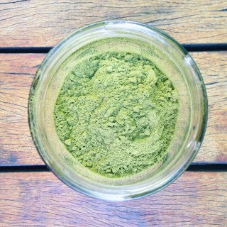 pózinho mágico de chá verde