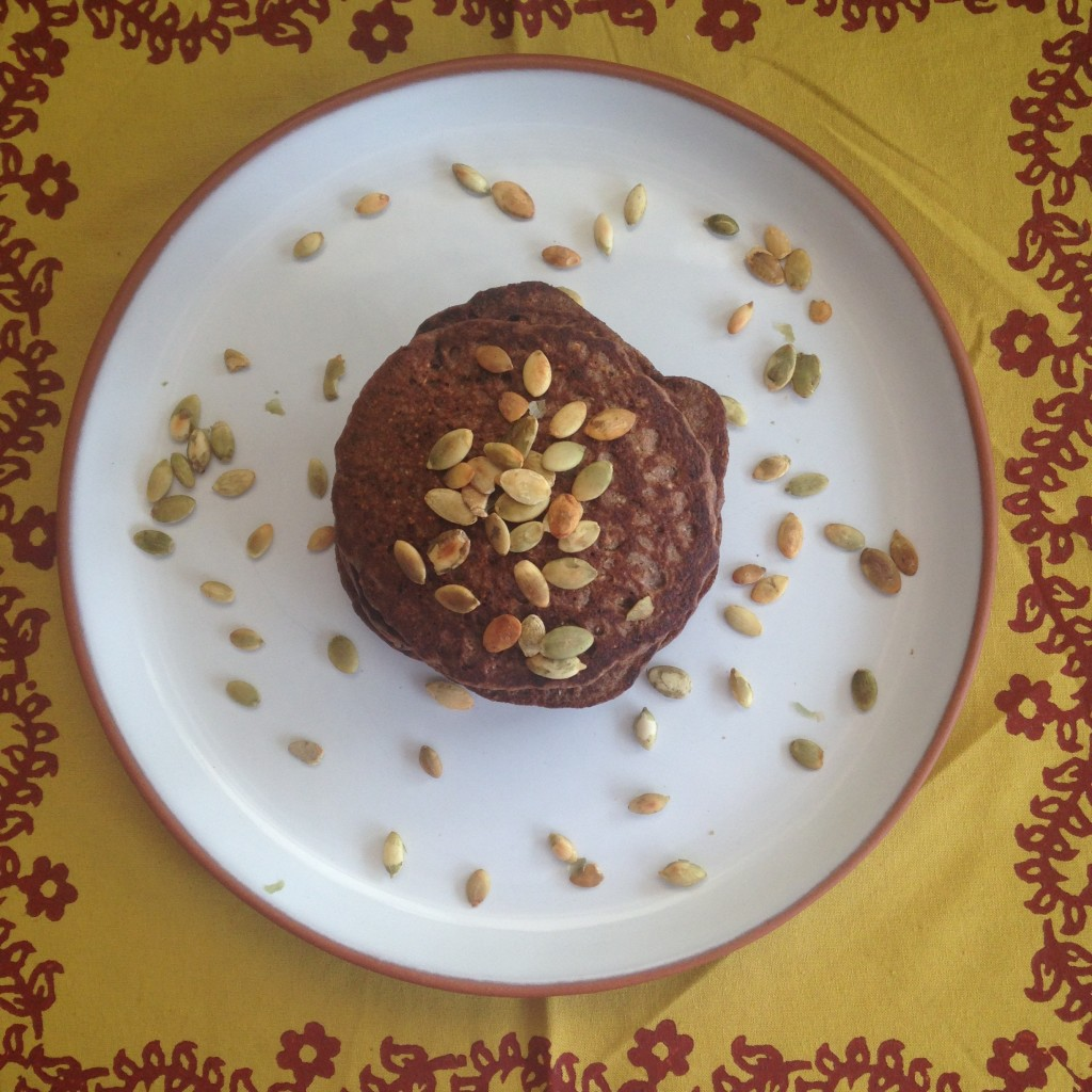 Panqueca de cacau – super saudável, super deliciosa