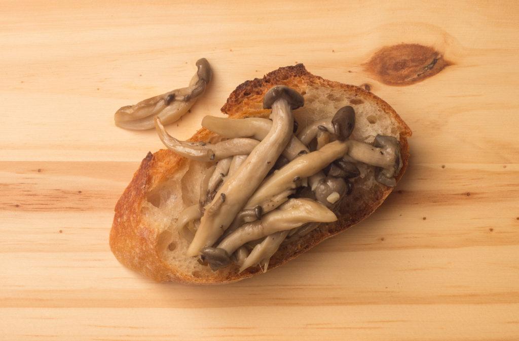 pintxos de cogumelos