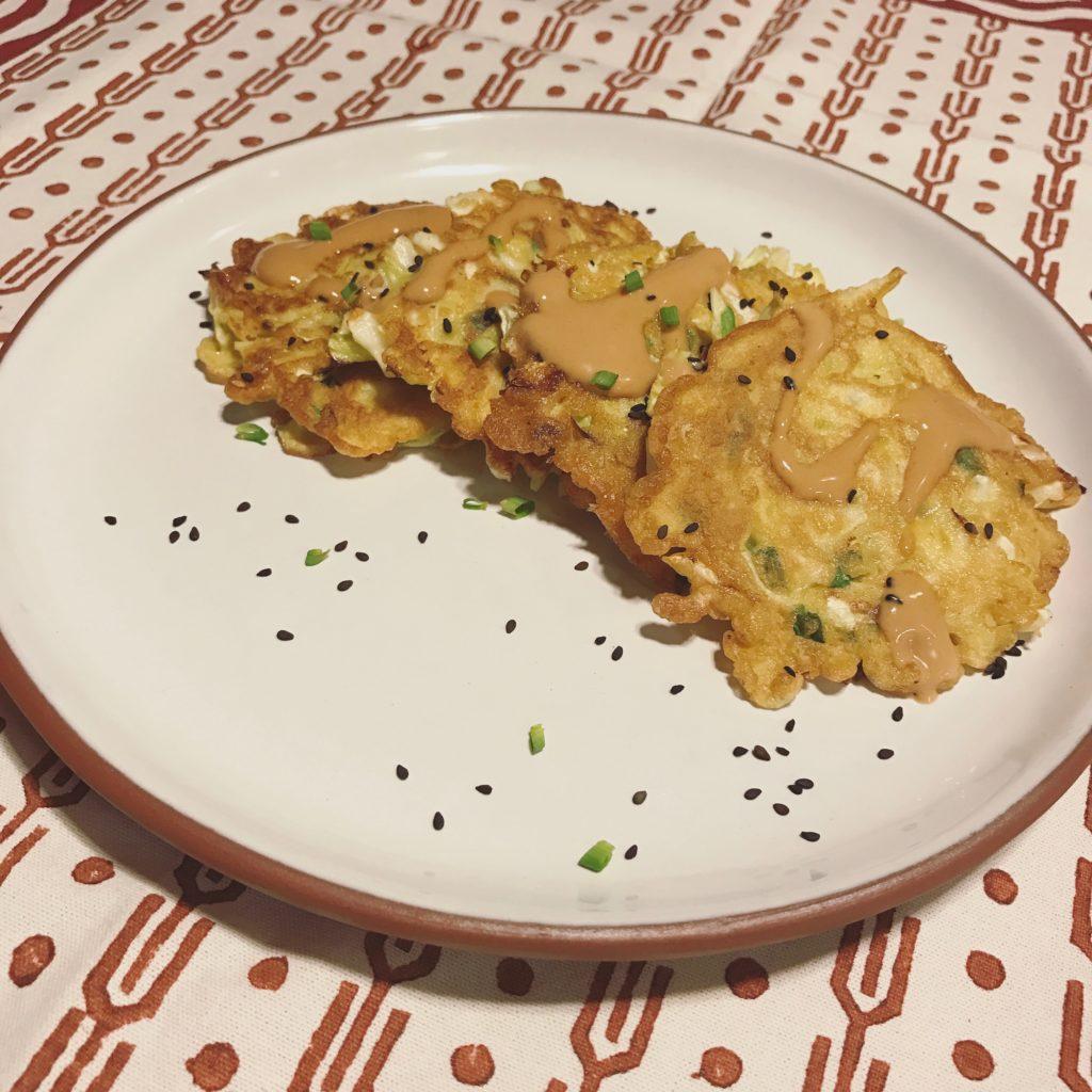 okonomiyaki – nossa larica vegê favorita