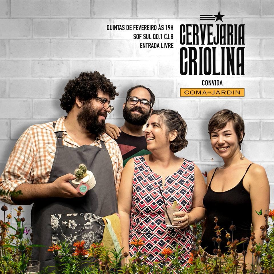 coma no jardin - cervejaria criolina 21