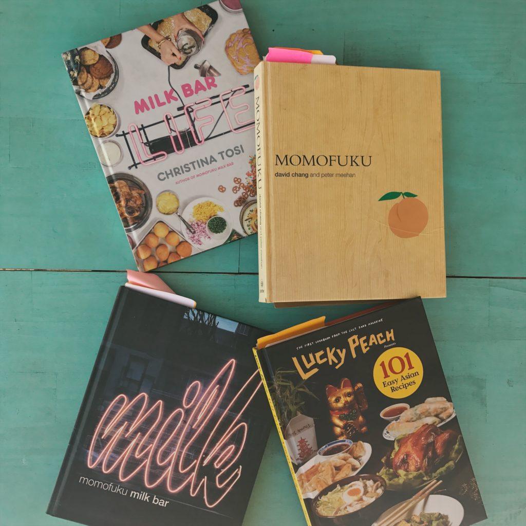 alguns dos nossos livros favoritos de receitas