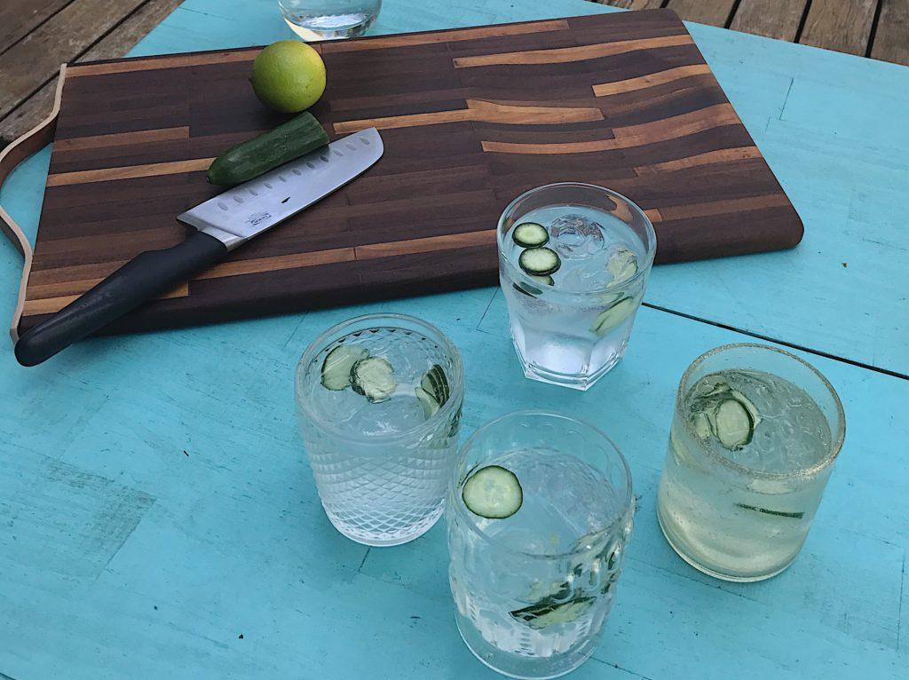 gin tônica com tábua uso