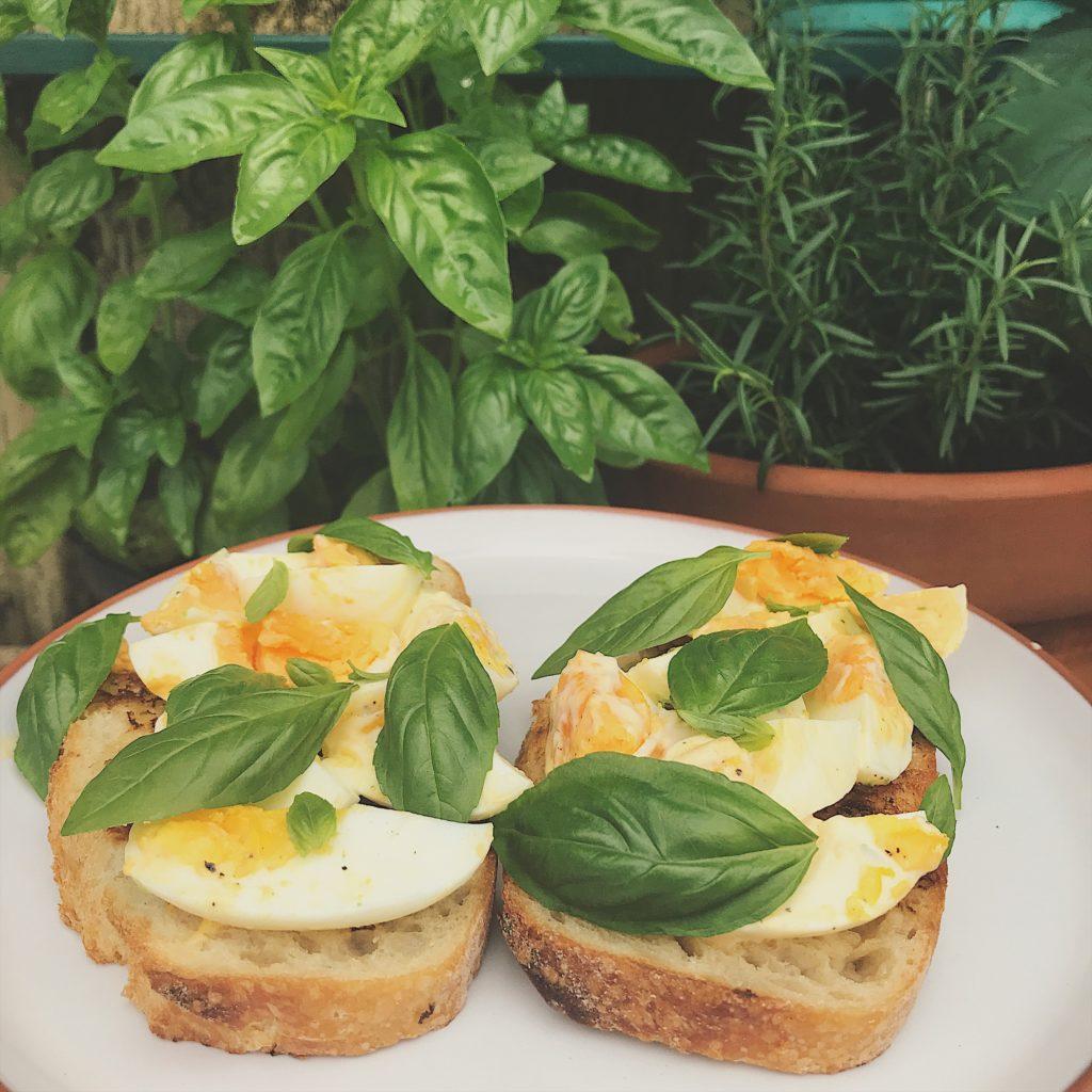 tartine de ovos