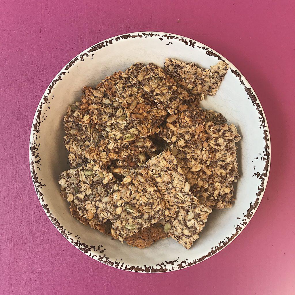 torradas de sementes
