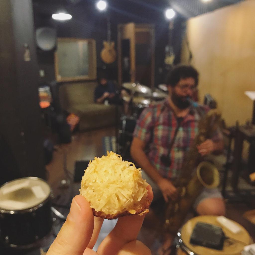 bastidores de uma gravação – #comanoestúdio