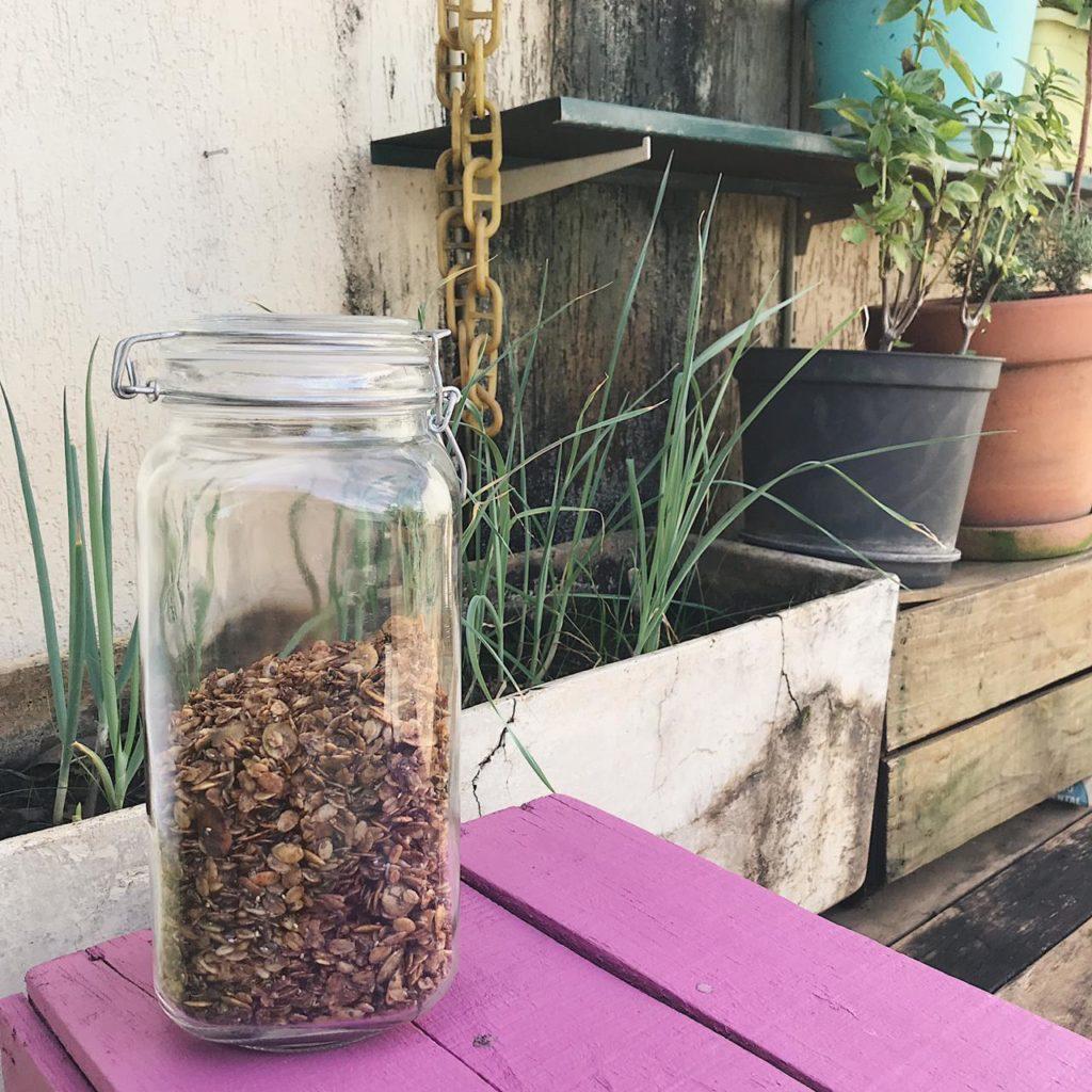 granola com especiarias