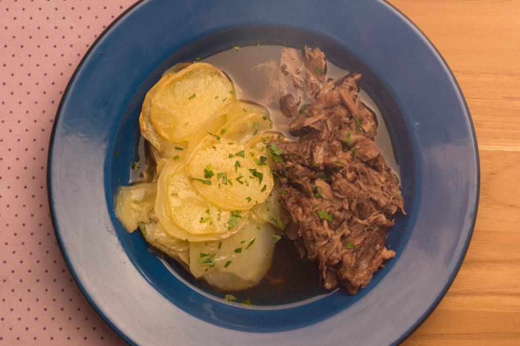 rabada com batata do Arzak