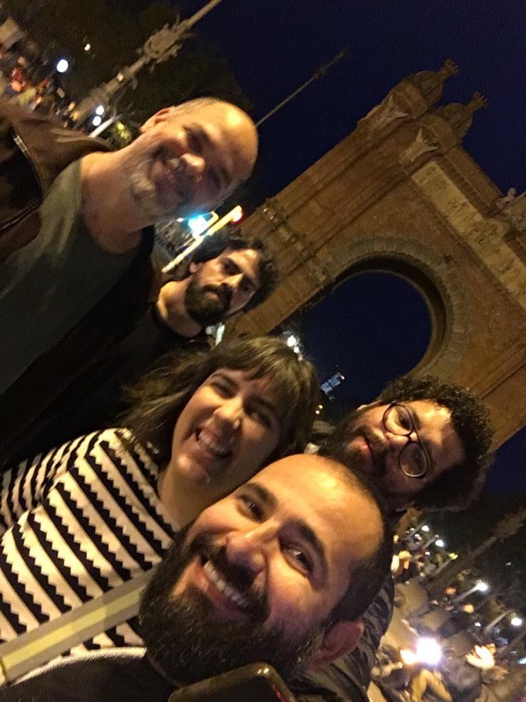 Turnê Esdras Nogueira 2019 – Parte 2 Barcelona