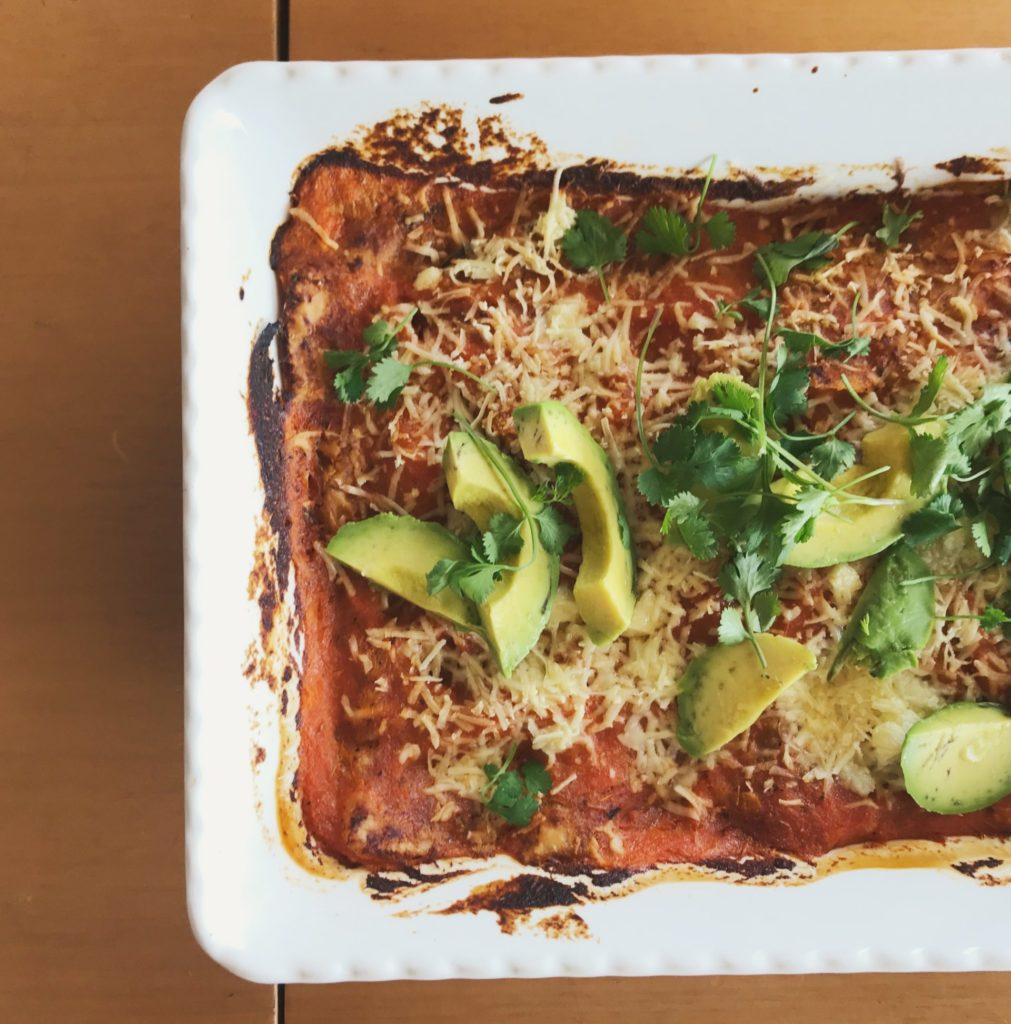 enchiladas improvisadas